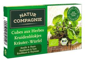 Natur Compagnie Cubes aux herbes basilic thym 80gr