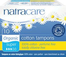 Natracare Tampons coton super 10pcs