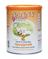 Nanny-Care Lait de suite chèvre 2 >6m 900gr