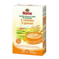 Holle Bouillie aux 3 céréales >6m 250gr