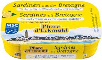 PH Sardines H.d' Olive Citron 115g