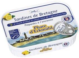 PH Sardines H.Ol.Citron S.Sel 135g