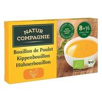 NATUR COMPAGNIE Bouillon Poulet cubes 8 x 11 gr