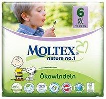 MOLTEX Couche XL (22pcs/16-30 kg/Nr6)