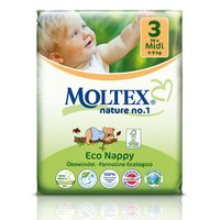 MOLTEX Couche MIDI (34pcs/4-9 kg/Nr3)