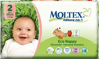 MOLTEX Couche MINI (42pcs/3-6 kg/Nr2)