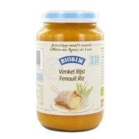 JOANNUSMOLEN Biobim Fenouil-Riz (>8 mois) sans gluten-sans lactose 200g