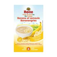 Holle Bouillie banane et semoule >6m 250gr