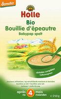 Holle Bouillie d'épeautre >4m 250gr