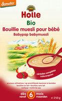 Holle Bouillie muesli pour bebé >6m 250gr