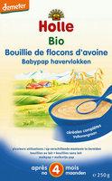 Holle Bouillie flocons d'avoine >4m 250gr