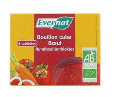 Evernat Bouillon cube boeuf 6pcs