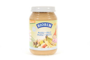 Biobim Muesli fruits >8m 200gr