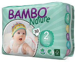 Bambo Nature Couches mini 2 (3-6kg) 30pcs