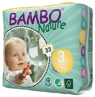 Bambo Nature Couches midi 3 (5-9kg) 33pcs