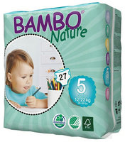 Bambo Nature Couches junior 5 (12-22kg) 27pcs