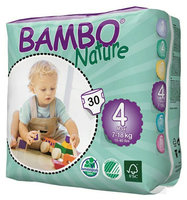 Bambo Nature Couches maxi 4 (7-18kg) 30pcs