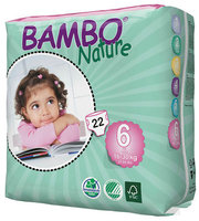 Bambo Nature Couches xl 6 (16-30kg) 22pcs