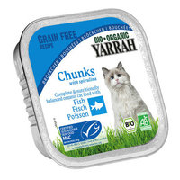 YARRAH Chat Alucup chunks poisson 100g