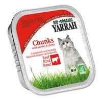 YARRAH Chat Alucup chunks boeuf 100g