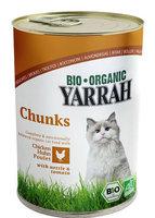 YARRAH Chat boà®te chunks poulet 405g