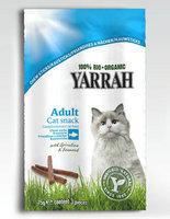 Yarrah Chat bâtonnets mâcher poisson 15g