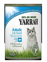 Yarrah Chat boà®te paté poisson 400g