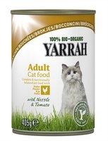 YARRAH Cat Bouchées Poule boite/405g