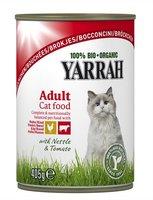 YARRAH Cat Chunk Poule Boeuf boite/405g