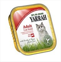YARRAH Cat Chunks Boeuf cup/100g
