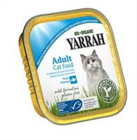 YARRAH Cat Chunks Poisson cup/100g